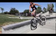 Is Perris Benegas the best female BMX biker?