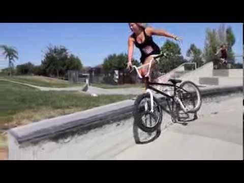 Is Perris Benegas the best female BMX biker?