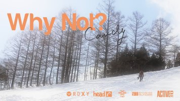 "Japanese Girls Snowboard Movie ""CANDY"" [WHY NOT?]Trailer"