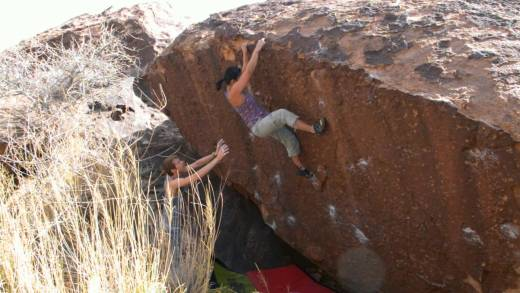 Jeline Guiles: Climbing and Motherhood