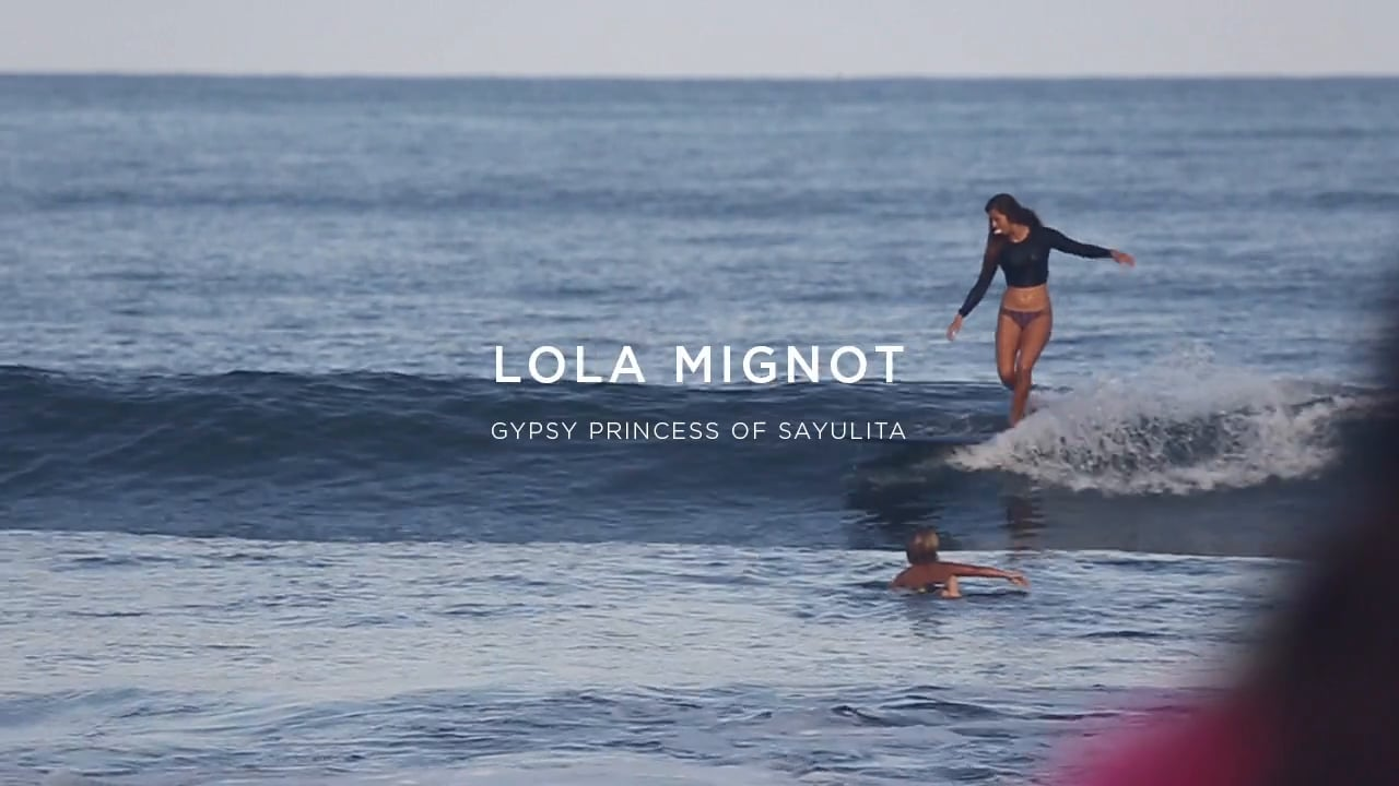 Mexican Longboarder: Lola Mignot